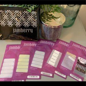 Jamberry Nail Wrap Lot